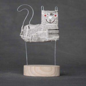 Novinová kočka