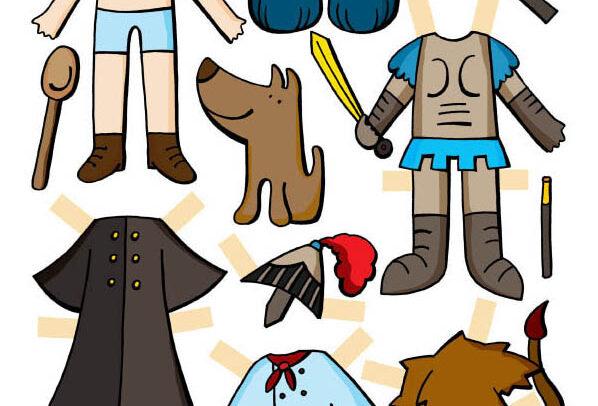 Oblékací postavičky
