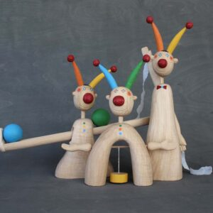 Šašci žonglující