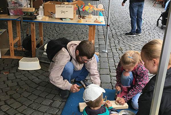 Dřevěná dílna pro veřejnost