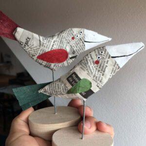 Novinový ptáček